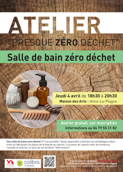 Atelier Presque Zero Dechet La Salle De Bain Tarentaise